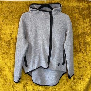 Nike Tech Sportswear Cape Asymmetrical Fleece sz S